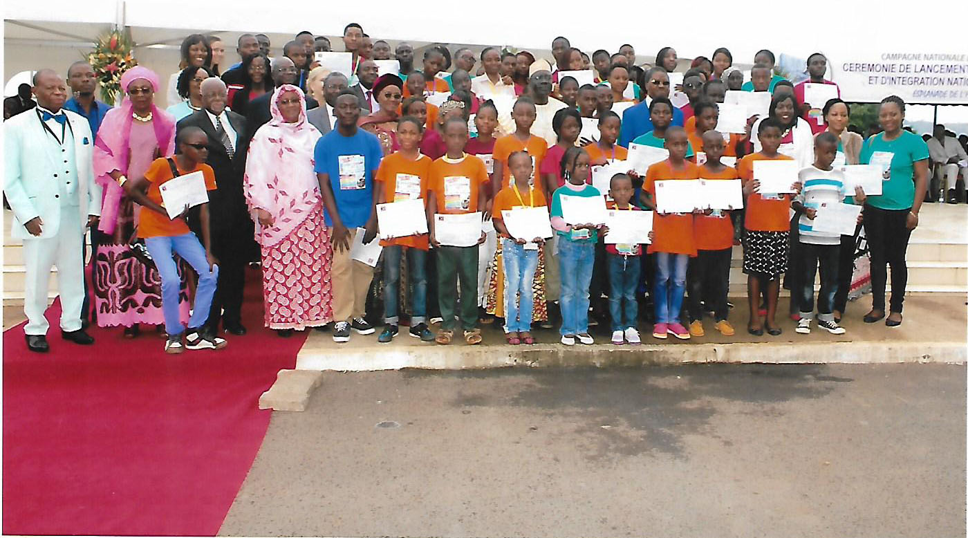 ICT bootcamp participants and cameroonian ministries